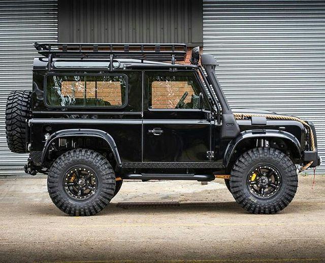 "4,049 Likes, 11 Comments - @landroverphotoalbum on Instagram: ""Fresh out the box! @tweakedautomotive's superb take on the #spectreedition #landroverdefender…"""
