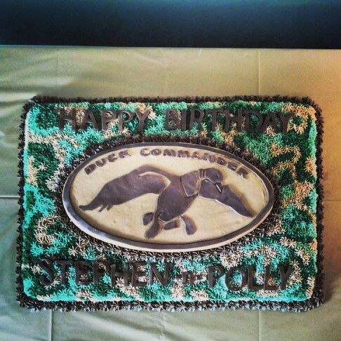 Duck Commander Cake Ideas