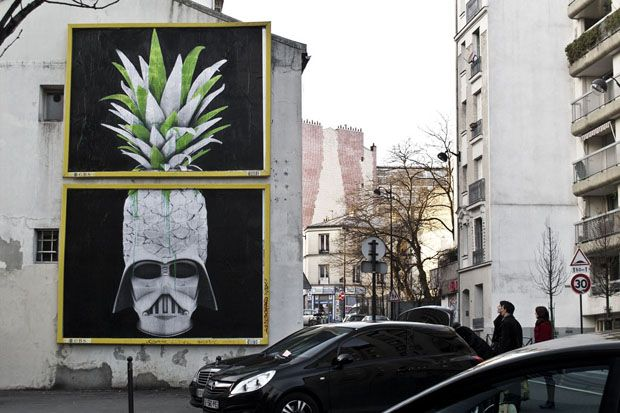"""Ludo """"Use the Force"""" New Mural in Paris"""