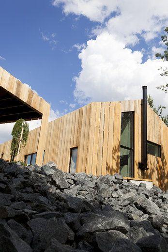 Lammi-Kivitalo Maja erottuu julkisivullaan perinteisistä kivitaloista, lisää ideoita www.lammi-kivitalot.fi
