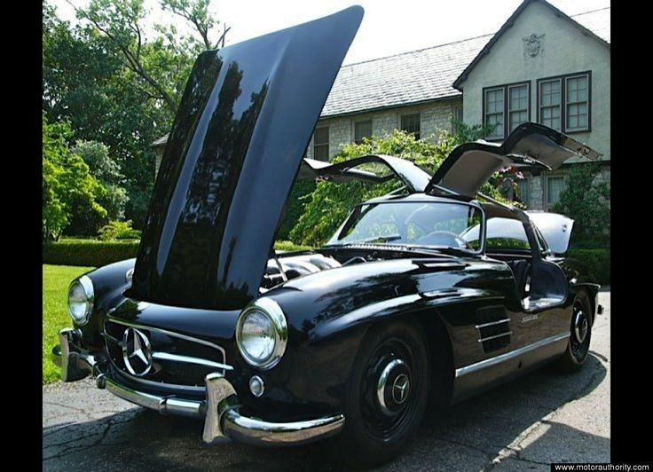 1954 MercedesBenz 300SL The most beautiful car of all