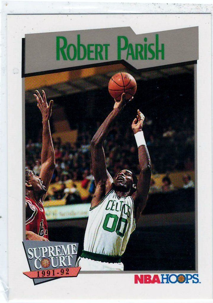 1991-92 NBA Hoops (Supreme Court) Robert Parish # 452 Pick any cards up to $5 total and get FREE Shipping Collectible Trading Cards Card in Mint Condition (all cards are stored properly, and cards are