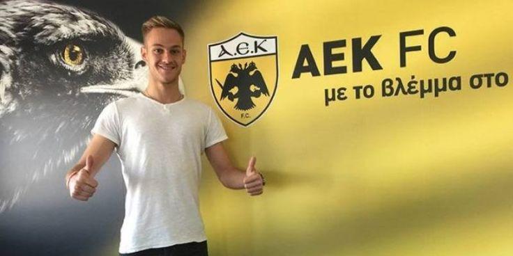 Τον αιγιώτη τερματοφύλακα Γιάννη Παπαδόπουλο ανακοίνωσε η ΑΕΚ