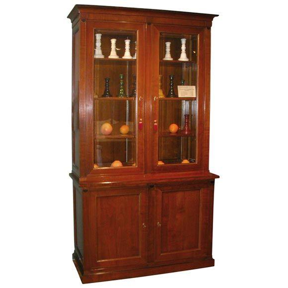 El Marangon Cherry Bookcase