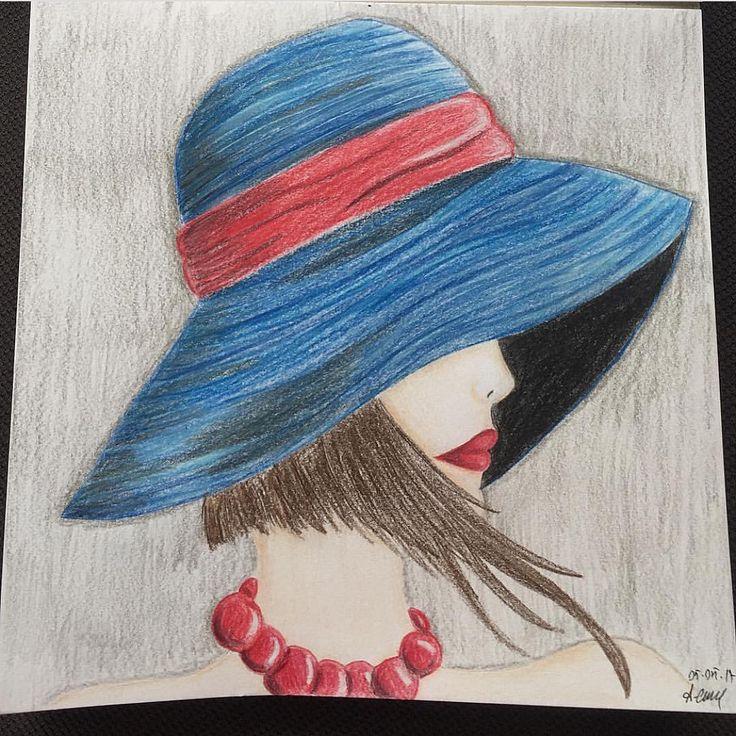 Şapkalı kız çizimim ����������. . . . #şapkalıkız #şapka #kız #çizim #sketch #sketchbook #kırmızı #mavi #lacivert #red #blue #photo #art #resim #picture #paint #������ #�� #�� #kısasaç #kısa #saç #shorthair #short #hair #hatgirl  #hat #girl #artlover #sanat #instaphoto http://turkrazzi.com/ipost/1521790973536341444/?code=BUefNPgB43E