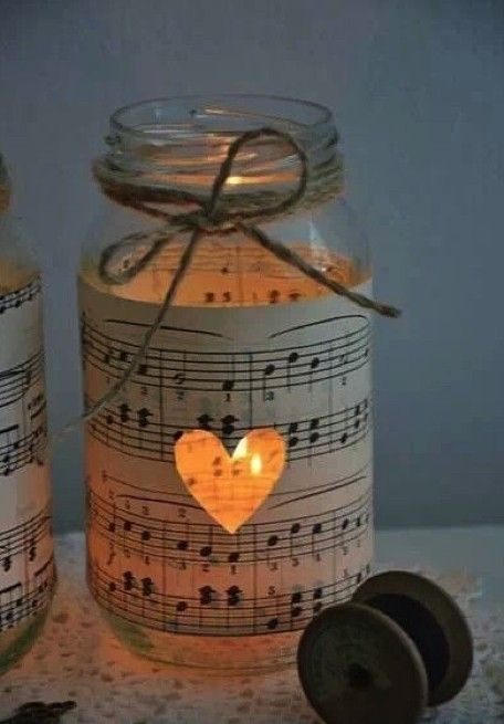 Here at /Perfect Wedding /we do love a Mason jar decoration! This chunky   glass jar is perfect for adding a few extra touches to a rustic wedding day,   and with so many uses you'll want to start stocking up!