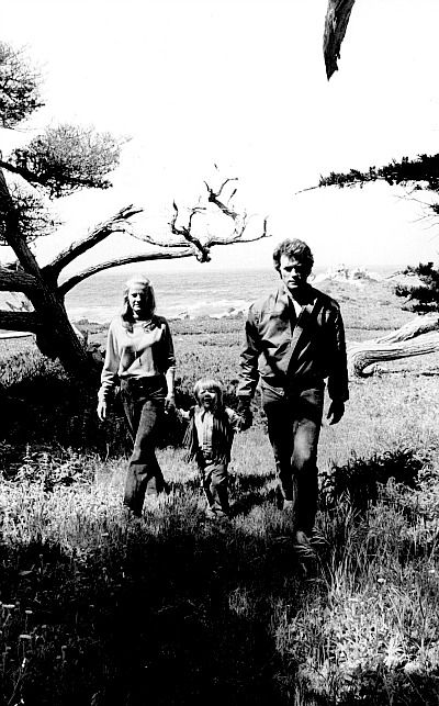 """"""" Clint Eastwood with his wife Maggie and son Kyle. Photographed by Douglas Jones, c. 1973. """""""