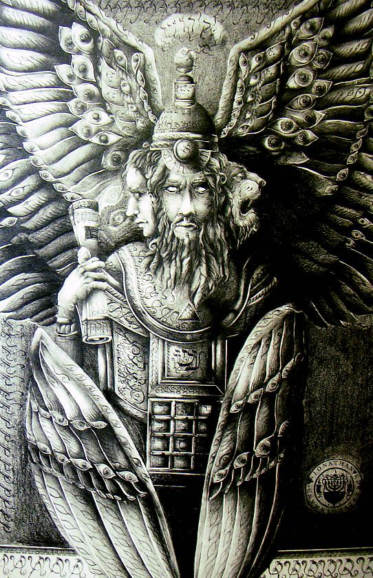 17 Best images about Ezekiel's Angel is REAL! Cherubim of ...