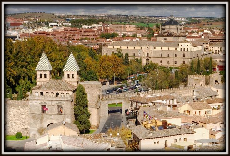Hermosas vistas desde el Convento del Espíritu Santo (Padres Carmelitas). Toledo