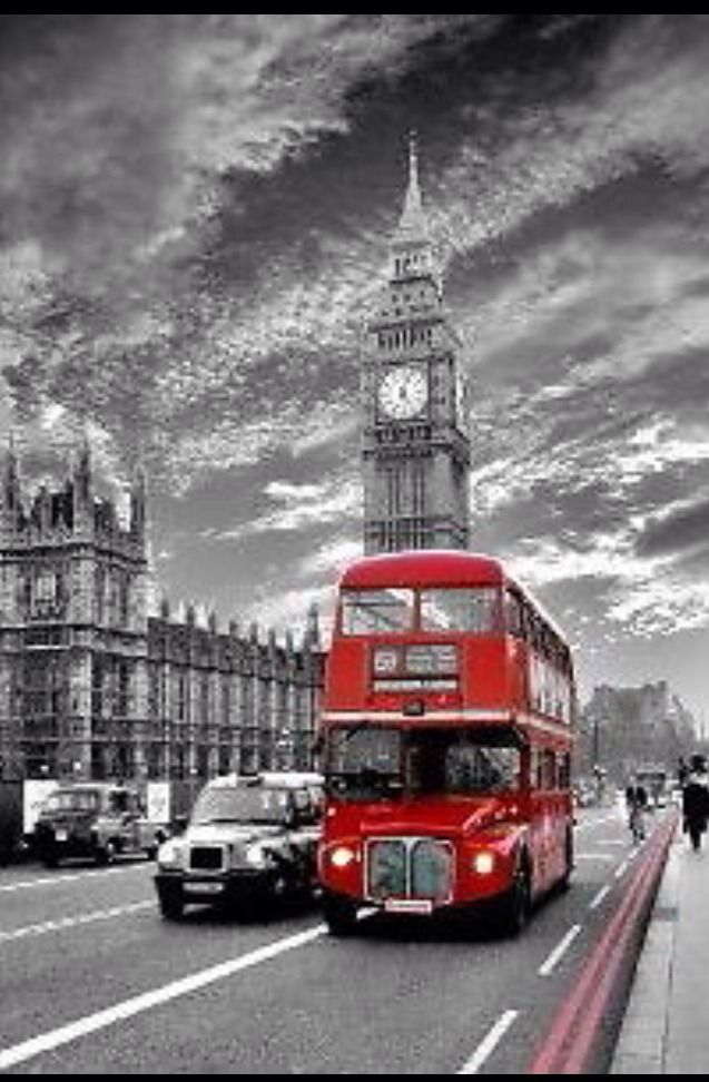 London westminster red bus poster A2 SIZE - £3.49