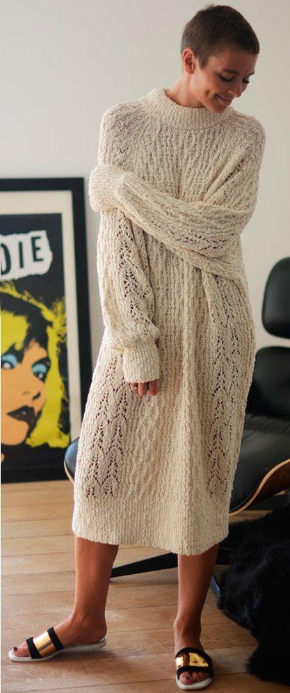 knit dress - H&M http://outandaboutmarie.com/office-dog/