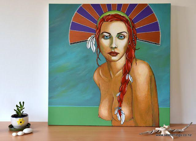 """Kamali"" : portrait of a spirit guide"