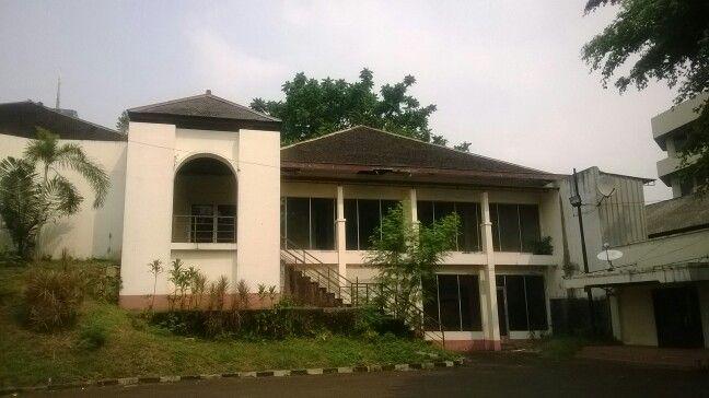 Sudut bangunan di Museum Satria Mandala
