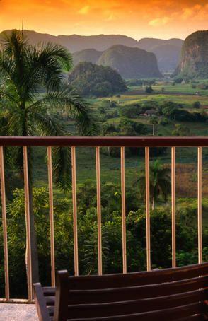 Pinar del Rio, Cuba  Vinales valley in Pinar del Rio from lookout