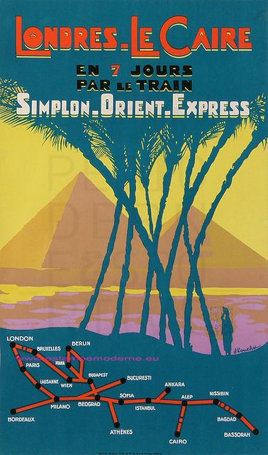 Murder On The Orient Express  New Travel Posters