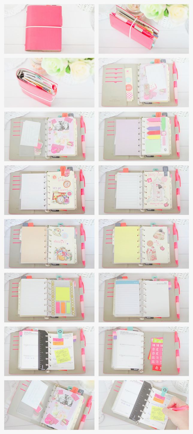 makecupcake: Filofax Setup. If you like this planner setup you should check out this post: http://www.designisyay.com/kikki-k-personal-planner-setup/