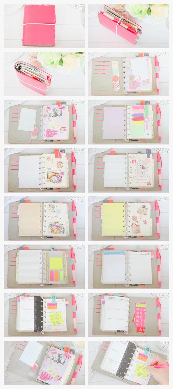makecupcake: Filofax Setup. If you like this planner setup you should check out this post: http://www.designisyay.com/kikki-k-personal-planner-setup/