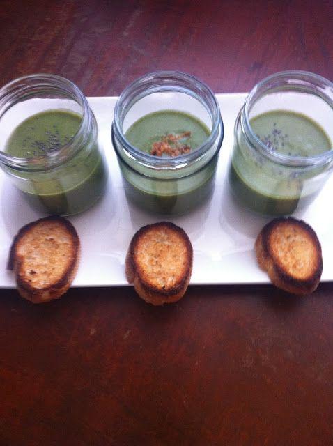 Loquenomemata: Crema de espinacas con crujiente de pan de ajo -  ...