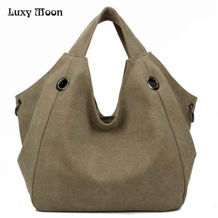 2843ef08f8 New 2016 Handbags Fashion Canvas Big Women Bags High Quality Hobo Messenger  Bags Famous Top-Handle Bags 2016 Brand Ladies Sac