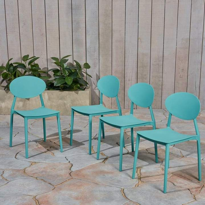 Belford Stacking Patio Dining Chair Outdoor Dining Chairs Patio Dining Chairs Patio Dining