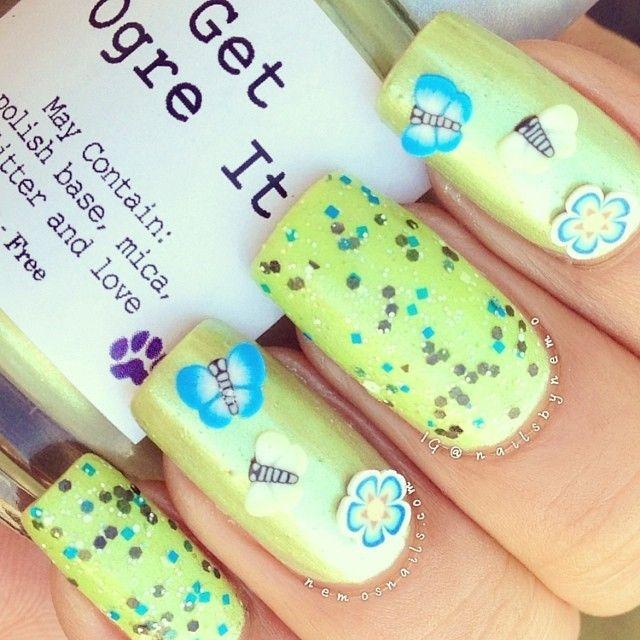 Mejores 239 imágenes de Pretty Nails en Pinterest | Uñas bonitas ...