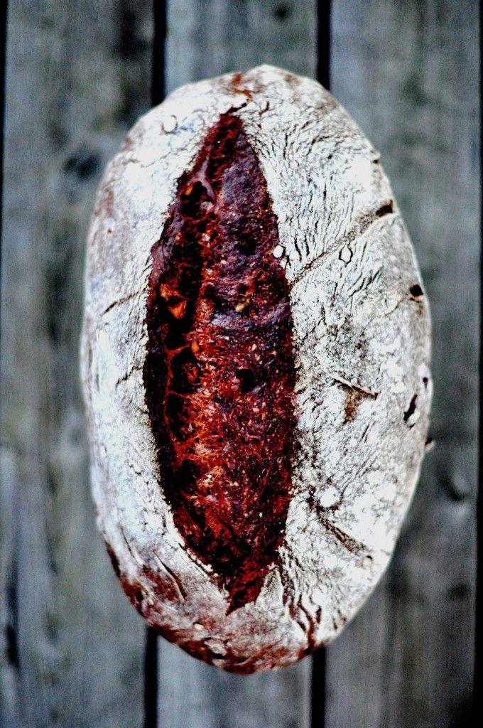 Chocolate and Chestnut Sourdough Bread (Pane Al Cioccolato) | Bread & Companatico