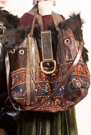 Ralph Lauren bag, carpet bag …