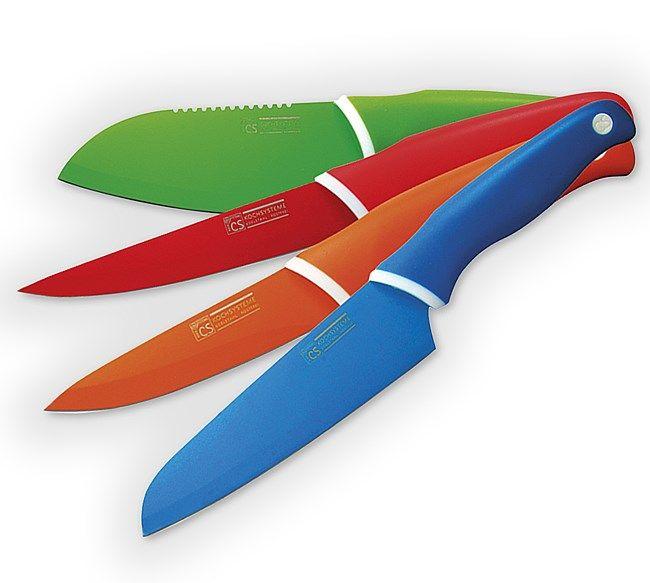 Sada farebných nožov 4 ks Solingen