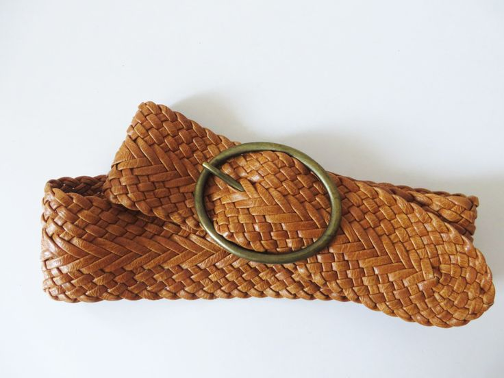 Light Brown Braided Vegan Leather Belt with Brass Buckle Woven Womens Hips Belt Boho Bohemian Gypsy Tribal Hipster Women's Accessories by LettersInMyPocket on Etsy https://www.etsy.com/listing/246160953/light-brown-braided-vegan-leather-belt
