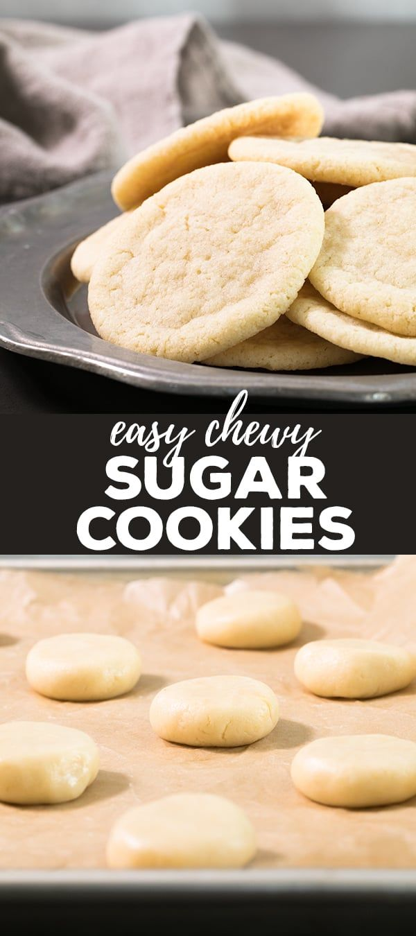 Baking these super easy gluten free sugar cookies in a low oven keeps the cookies pale and tender, without crisping the edges much at all. The result is perfect chewy sugar cookies, decorated or plain.