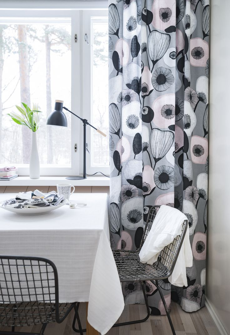 Pastelli Fabric | Being modern does not have to mean cold and dreary! Designer Minna Niskakangas designed trendy Pastelli (Pastel) with a soft and sympathetic grip.