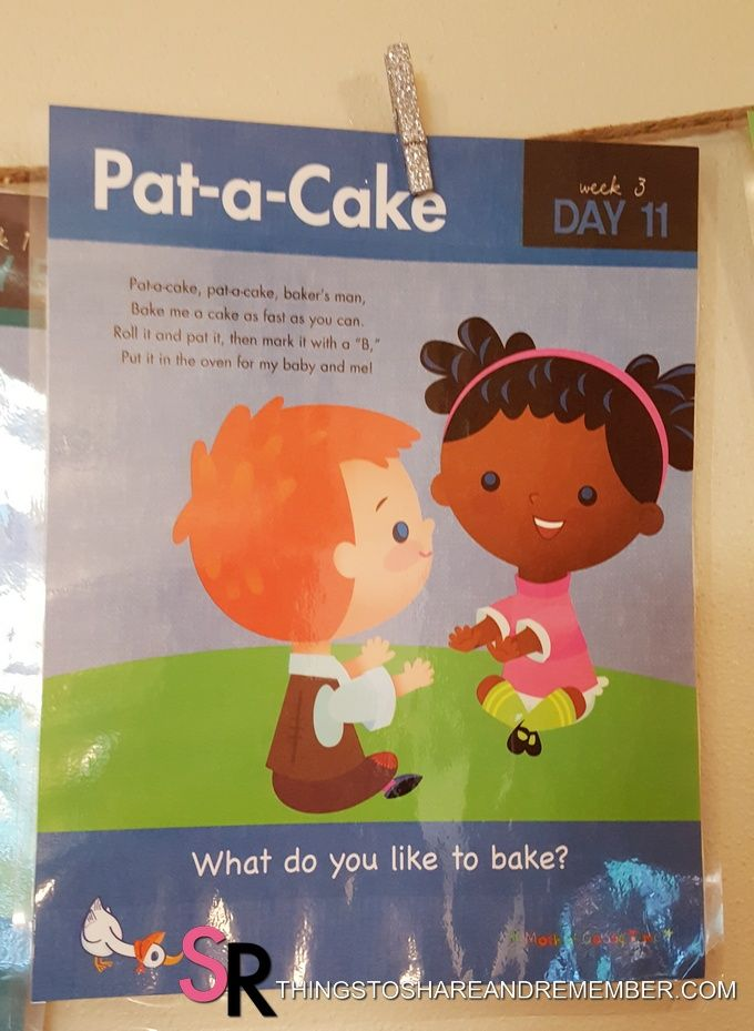 Pat A Cake Nursery Rhyme Activities Nursery Rhymes Activities
