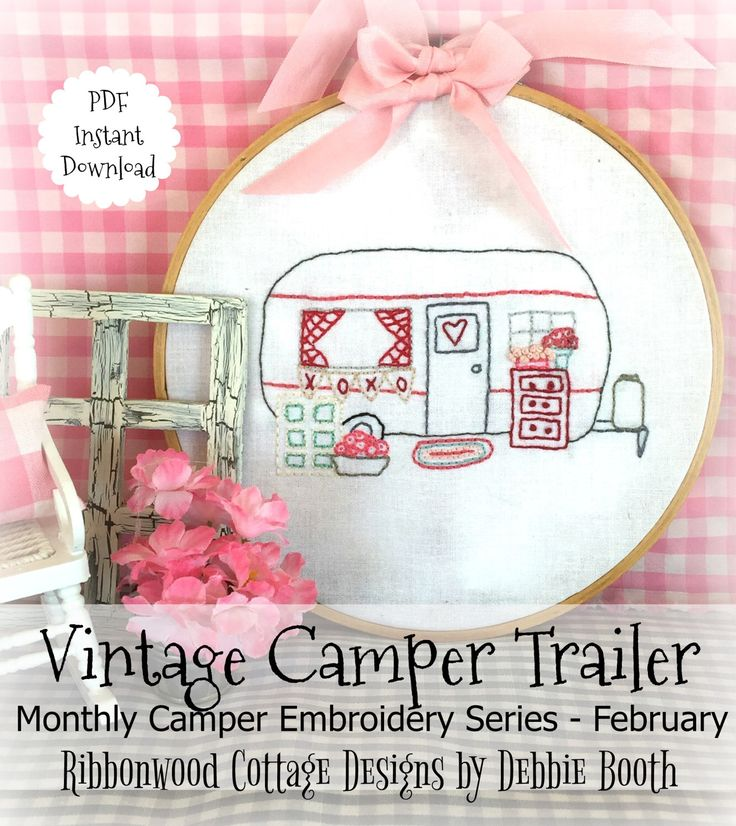 A personal favorite from my Etsy shop https://www.etsy.com/listing/512902745/february-monthly-vintage-camper-trailer