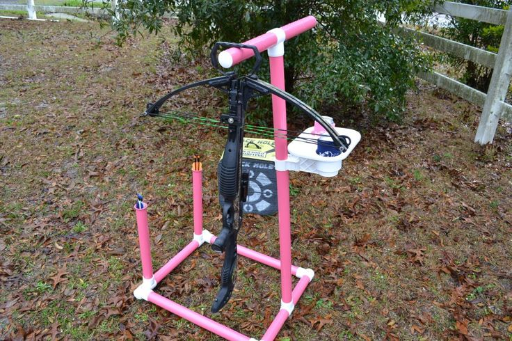 Bow Stand With Drink Holders! Pretty Awesome!