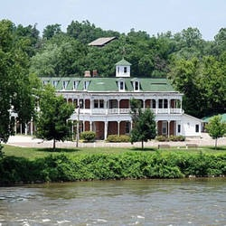 Hotel Manning, Keosauqua,Van Buren County, Iowa on the Des Moines River