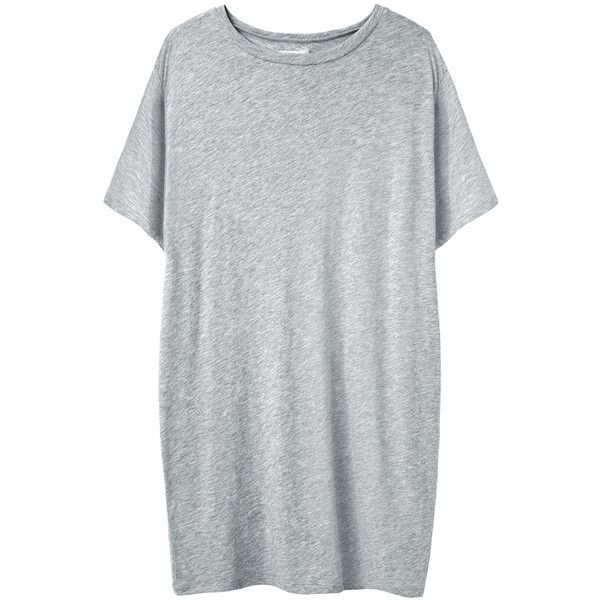 Organic by John Patrick Oversized Tee (4,105 PHP) ❤ liked on Polyvore featuring tops, t-shirts, dresses, shirts, boat neck shirt, dolman sleeve t shirt, oversized t shirt, oversized tee and relaxed fit t shirt