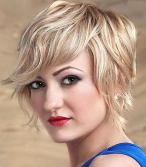 Short Hairstyles for Square Encounters