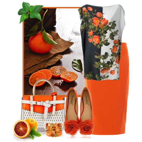 """Oranges"" by smylin on Polyvore"