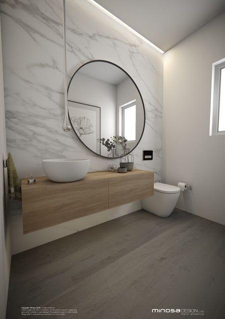 Minosa Design: Powder Room - The WOW bathroom