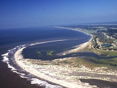 Kiawah My Favorite Beach In Sc The Island Upper Right Is Seabrook Inlet Between Two Islands Has Dolphins And Load
