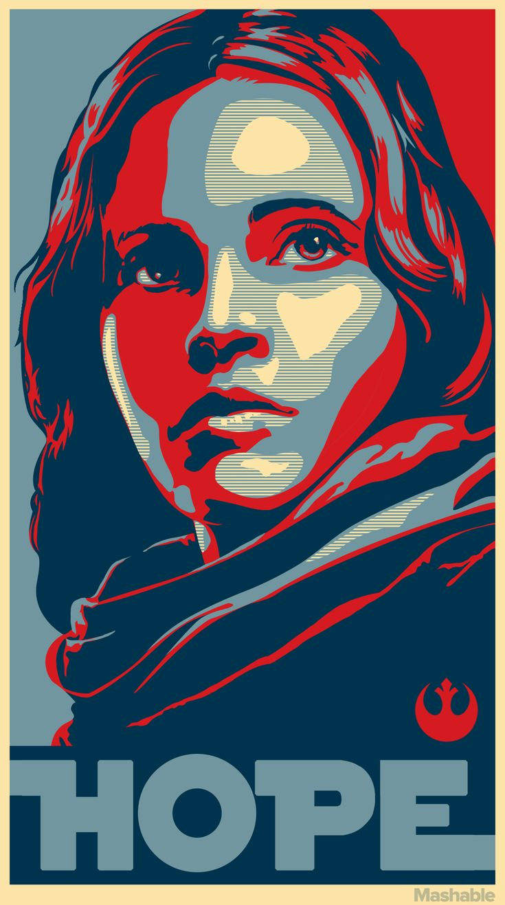 Jyn Erso poster | Rogue One: A Star Wars Story
