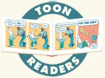 TOON Books - Easy to Read Comics. Free Teacher Resources for K-4. Free TOON online readers and CarTOON maker.  Readers Theater and more.