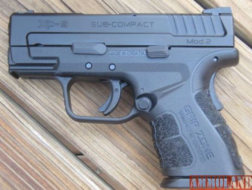 Springfield Armory XD-9 Handgun Mod. 2- 9 mmLoading that magazine is a pain! Get your Magazine speedloader today! http://www.amazon.com/shops/raeind