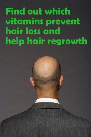 Vitamins that prevent hair loss and promote hair regrowth http://www.stanshealth.com/2007/11/hair-loss-vitamins-that-preventstop-and.html