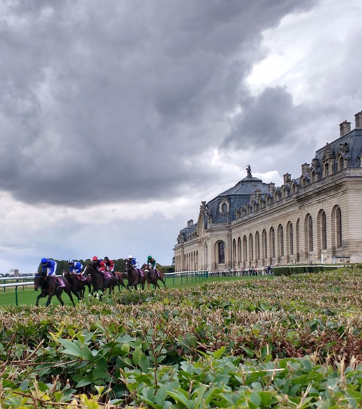 This weekend's 95th running of the Prix de l'Arc de Triomphe left the confines of Paris at Longchamp for the first time on Sunday, venturing into the wooded outskirts of the city to Chantilly. There really isn't a comparable site in the States, as the small town houses both a racetrack home to the French Oaks and the French Derby, as well as Europe's largest training center. For those familiar with British racing, it's something like Newmarket blended with Royal Ascot.