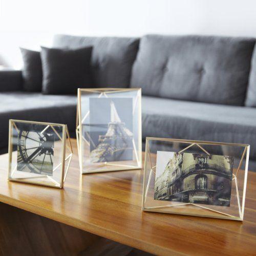 Umbra Prisma Picture Frame, 5 by 7-Inch, Matte Brass günstig und sicher online bestellen!