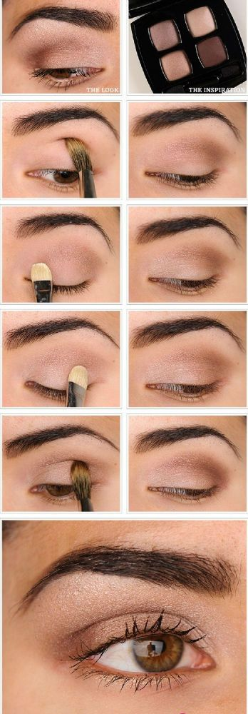 Simple make up look