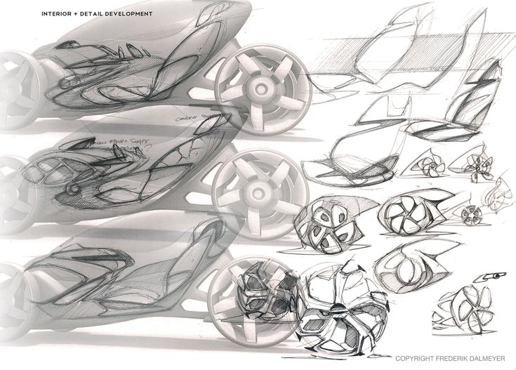 Sketching And Techniques Are Vital Skills For Industrial Designers Automotive The Final Model Or Prototype In A G