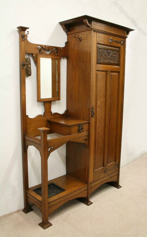 Scottish Art Nouveau Hall Robe/Hall Stand