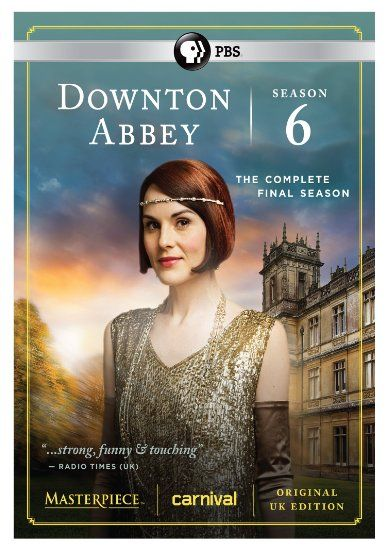 The sixth and final season of Downton Abbey premieres on PBS MASTERPIECE!, Sunday, January 3, 2016. The complete season six DVD and Blu-Ray sets, including the Downton Abbey series finale, are available for pre-order at Amazon.com. The new cover art, featuring Michelle Dockery as Lady Mary Crawley, graces the top of this article. As pointed …: